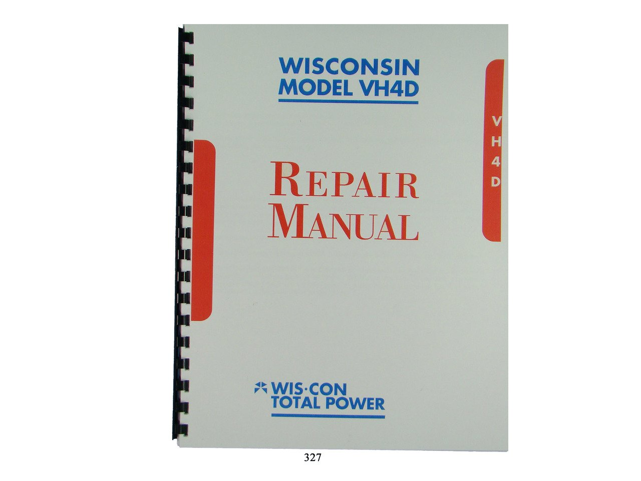 Wisconsin VH4D, VH4 Engine Repair Manual: Wisconsin Engines: Amazon.com:  Books