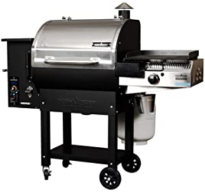 Camp Chef Woodwind SG 24 Pellet Grill with Sidekick Stove/Griddle Accessory - World's Most Versatile Wood BBQ Grill
