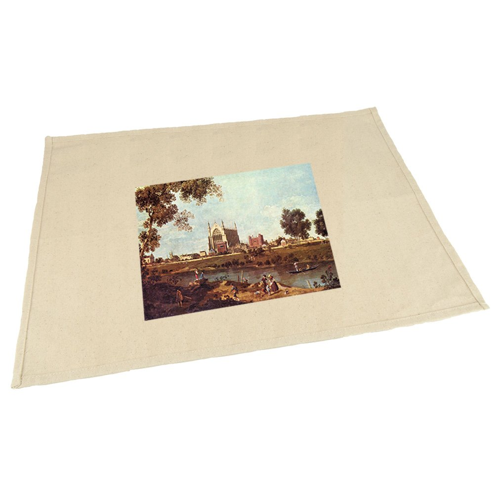 Style in Print Eton College (Canaletto) Cotton Canvas Placemat Table Mat