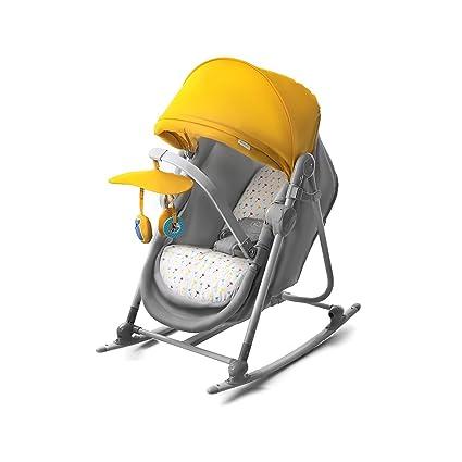 Niño Fuerza unimo Baby baby Balancín para balancín Camilla Cuna Baby Asiento Top Nuevo Amarillo
