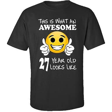 Emoji Birthday 27th Presents Men 27 Year Old Gift