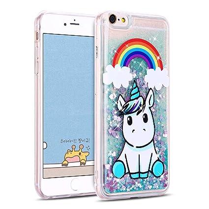 MOSORIS Funda iPhone 6S Plus, Transparente Carcasa iPhone 6 ...