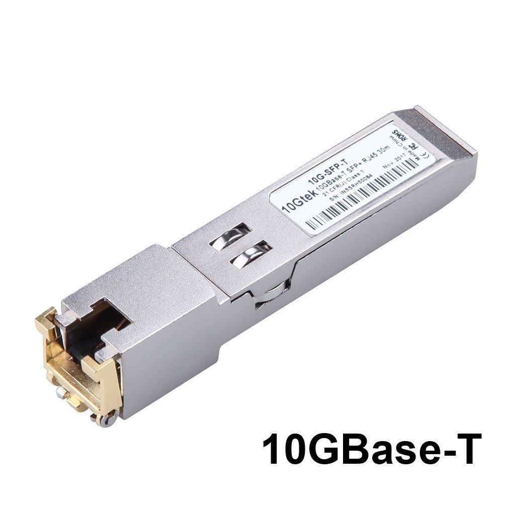 10Gtek for Cisco SFP-10G-T-S Compatible 10GBase-T SFP+ 10 Gigabit RJ45 Copper Transceiver 30-Meter