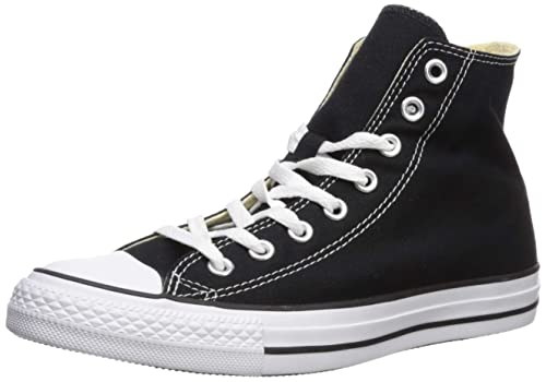 0fd587a4a100 Converse Unisex Chuck Taylor All Star Canvas Hi-Top Trainers  Amazon ...