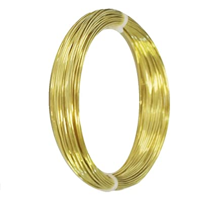 Solid Brass Round Wire 1 Oz 12 Ga To 26 Ga Soft Or Half Hard
