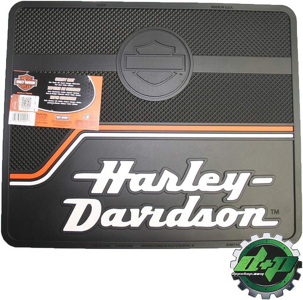 Amazon Com Diesel Power Plus Harley Davidson Utility Floor Mat Hd Shop Garage Back Rear Floor Vintage Stripe Clothing