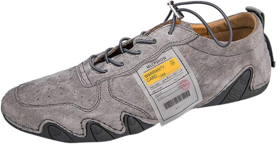 ZODOF zapatillas deportivas hombre Moda Respirable Casual Zapatos Sencillo Retro Zapatos de guisantes Sneakers(42 EU,Caqui): Amazon.es: Bricolaje y herramientas