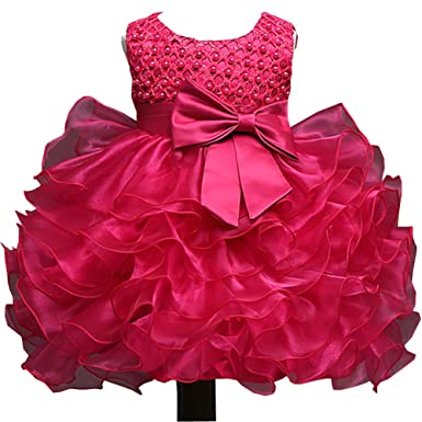 742b125bc7b Michealboy Many Colors Baby Frock Net Christening Dress Design Party for  Girl