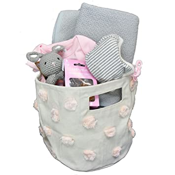 Amazon Pink And Gray Baby Shower Gift Ideas Organic Baby