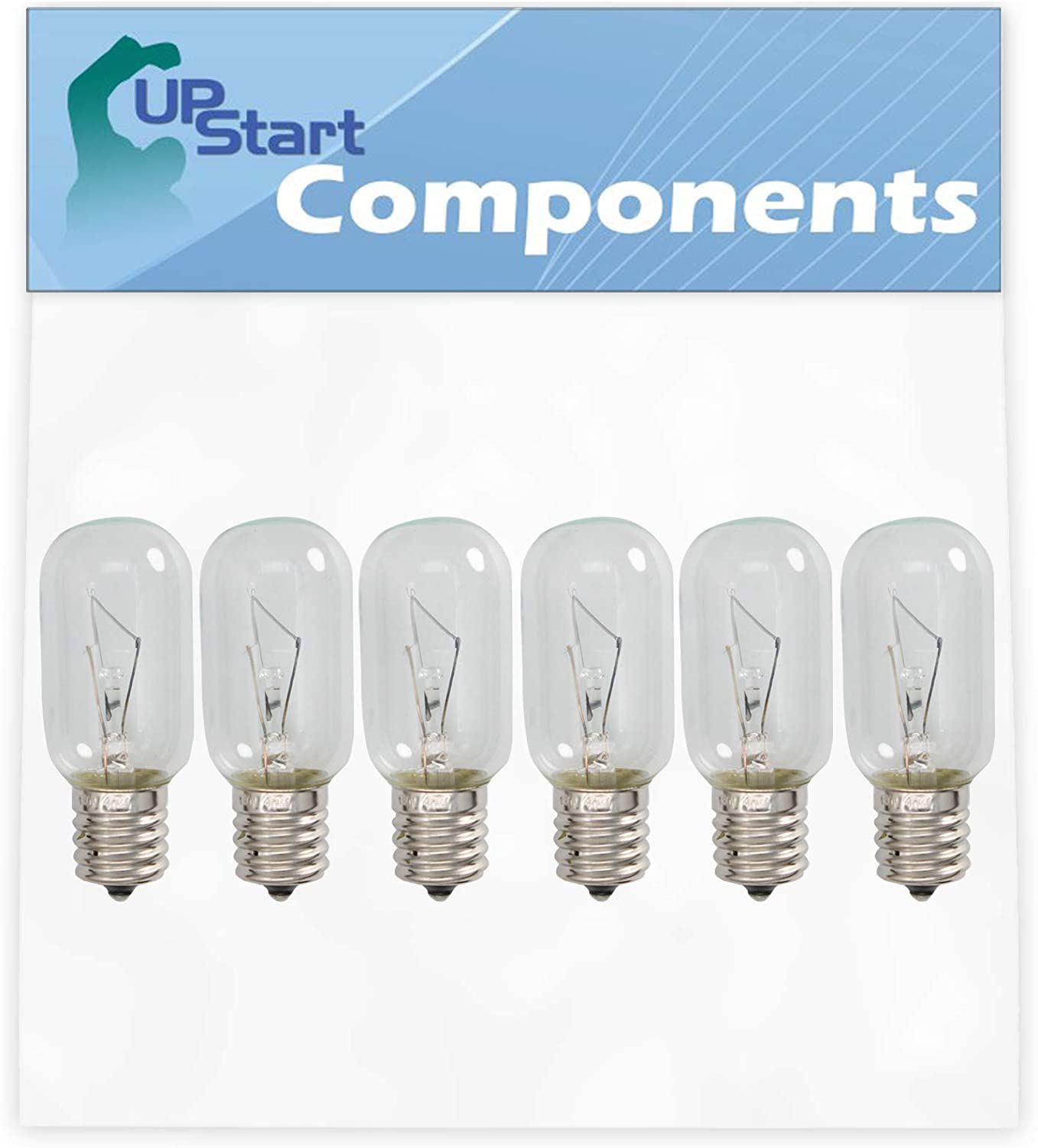 6-Pack 4713-001013 Microwave Light Bulb Replacement for Samsung ME16H702SES/AA-0000 Microwave - Compatible with Samsung 4713-001013 Light Bulb