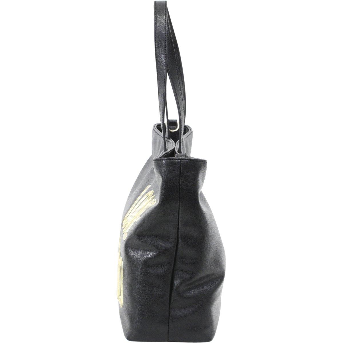 Love Moschino shopping bag Pu black by Love Moschino (Image #1)