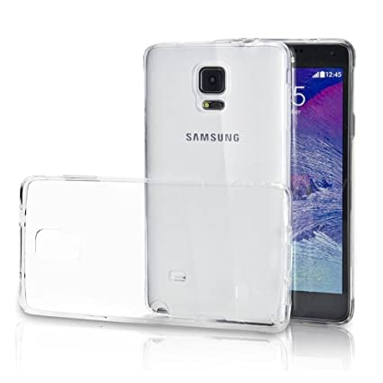 Funda Carcasa Gel Transparente para SAMSUNG GALAXY NOTE 4 ...