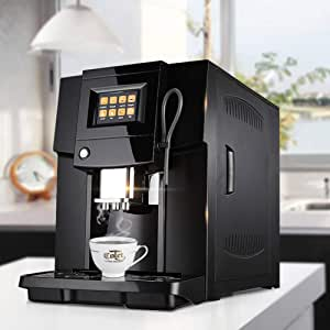 KOUDAG Cafetera Cafetera Totalmente automática Comercial Cafetera ...