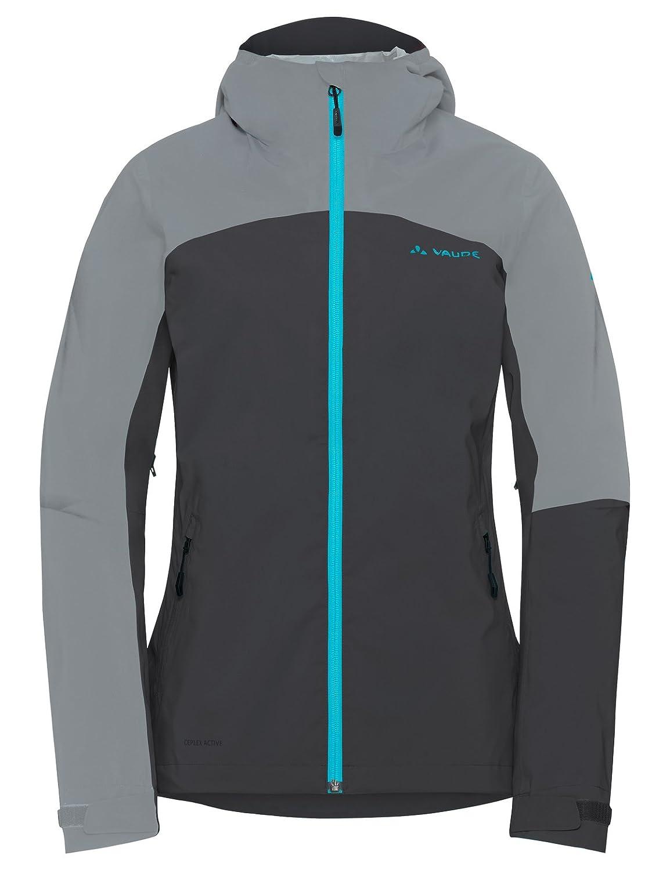 VAUDE Women's Moab Rain Jacket, Giacca Donna