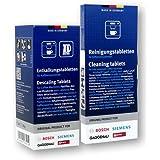 Bosch siemens tablettes de nettoyage et anti-calcaire