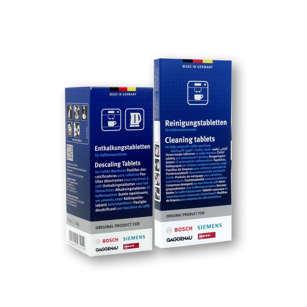 Pack of 10 2 x Bosch Cleaning Tablets for Coffee Machines