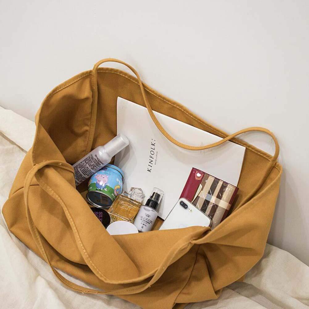 GAOLIQIN 2018 New Womens Handbag,Canvas Shoulder Bags,High Capacity Korean Version of The Wild Simple Ladies Bags