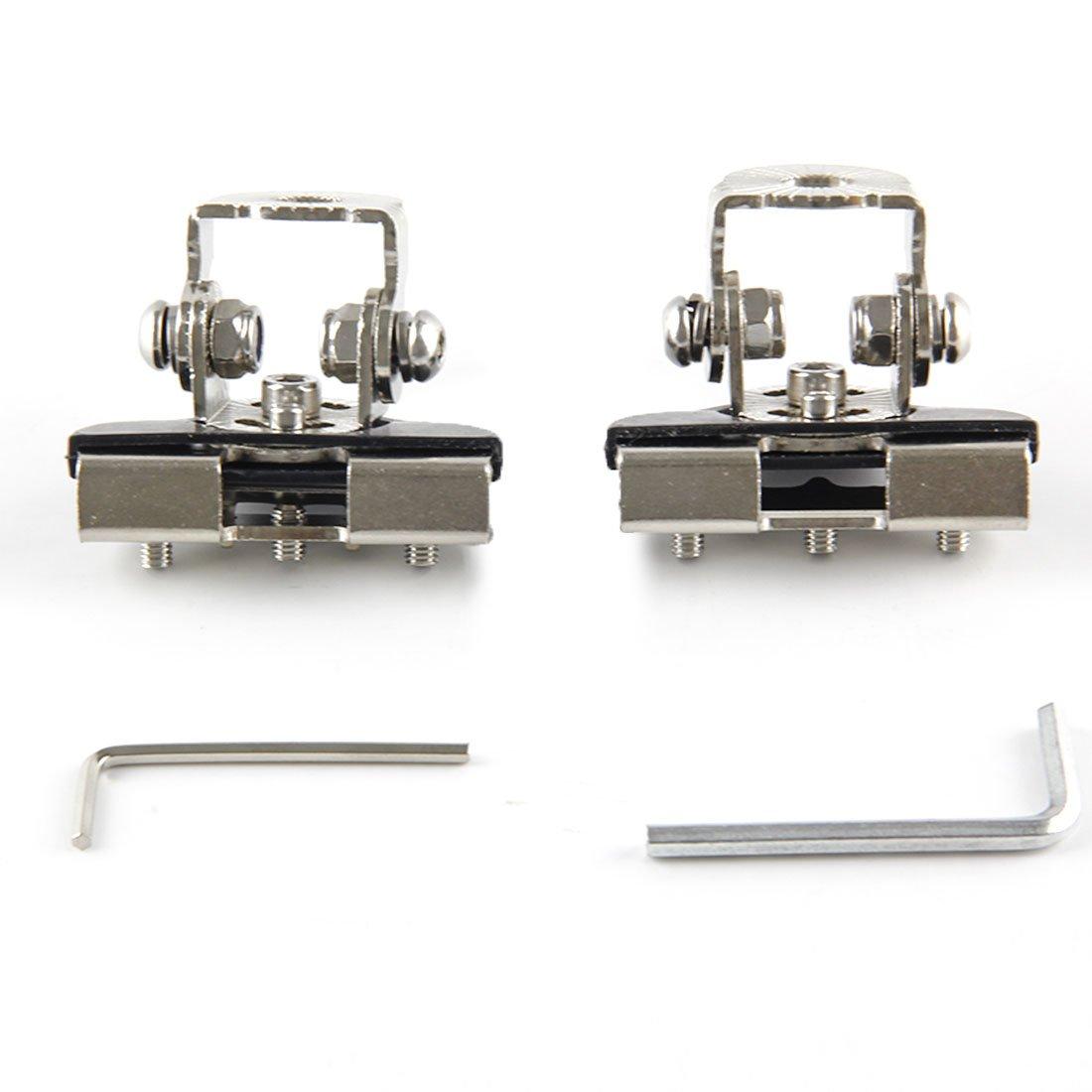 Staffa per luce da lavoro a LED per montaggio a parabrezza inferiore A-Pillar per Wrangler (Staffa A-Pillar) TG-light
