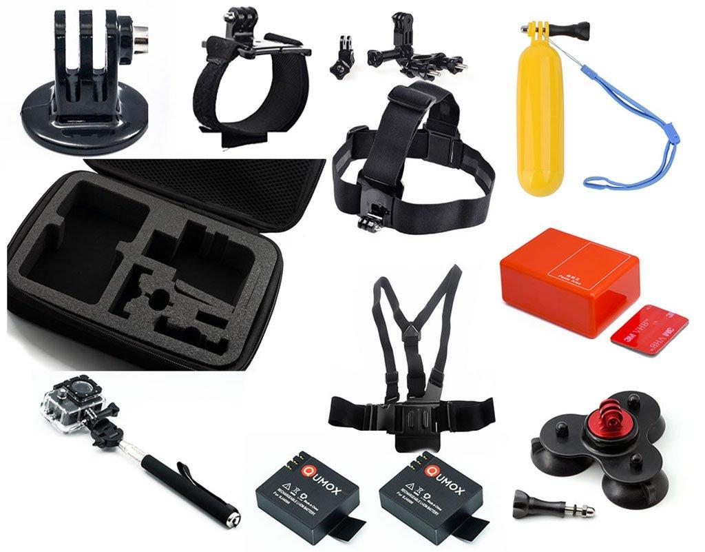 QUMOX Combo Manojo Kit Accesorios para Cámara SJ4000 / WIFI ...