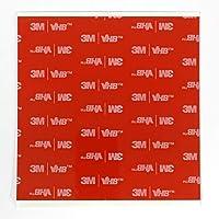 StickersLab - 5 stuks 100 x 100 mm 3M 5952 dubbelzijdig VHB acrylschuim
