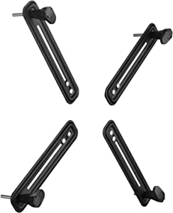 Mount Plus XMA1 VESA Mount Bracket Adapter Monitor Arm Mounting Kit for Screen 13 to 27 inch, VESA 75x75 mm and 100x10 0mm