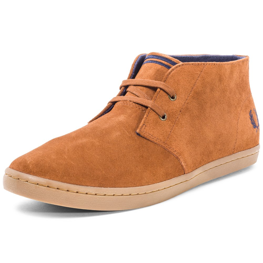 d4833b70920 Fred Perry Men's Fp Byron Mid Desert Boots