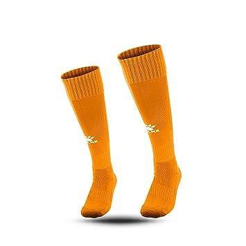 Kelme toalla Bottom calcetines de fútbol para adolescentes Juego Formación antideslizante calcetines, hombre, naranja