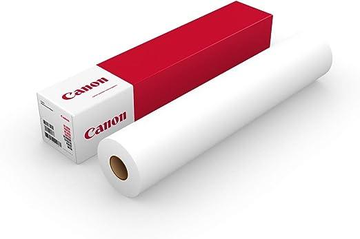 Canon Premium 130g/m 610mm - Papel para plotter (130 g/m², 2 año(s), 30 m, 30-75%, 10-35 °C, 10-35 °C): Amazon.es: Oficina y papelería