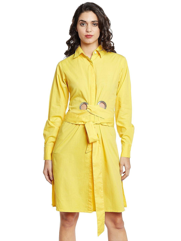 e17f200d39e5 The Silhouette Store Women Dress  Amazon.in  Clothing   Accessories