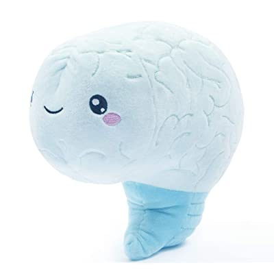 nerdbugs Brain Plush Organ- Love on the Brain- Brain Plush Organ Toy/ Get well gift/ Health education toy/ Neuroscience or Neurology plush toy organ gift/ Surgeon gift: Toys & Games