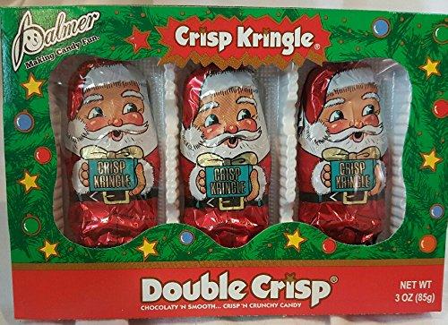 Chocolate Santa Santa Claus Double Crisp. Santa Claus Palmer Santa Claus Crisp Box of 3