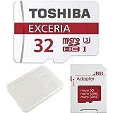 東芝 Toshiba 超高速U3 4K対応 microSDHC 32GB + SD アダプター + 保管用クリアケース [バルク品] [並行輸入品] …