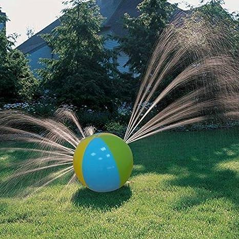 Bola inflable de agua para niños con orificios para rociar agua ...