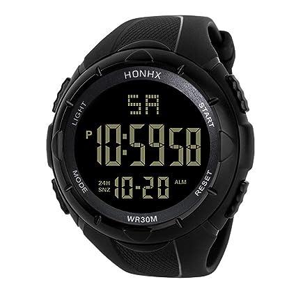Iuhan® Digital Sports Watches for Men Boys Teens,LED Waterproof Digital Quartz Fashion Watch