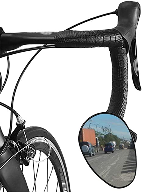 Espejo retrovisor de Manillar de Bicicleta de Carretera Unisex ...