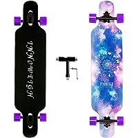 INNOWEIGH 41 Inch Longboard Skateboard Through Freestyle Longboard Complete Drop Down Through Deck Cruise Professional…