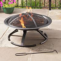 Pleasant Hearth Grab-N-Go 26 in. Circula...