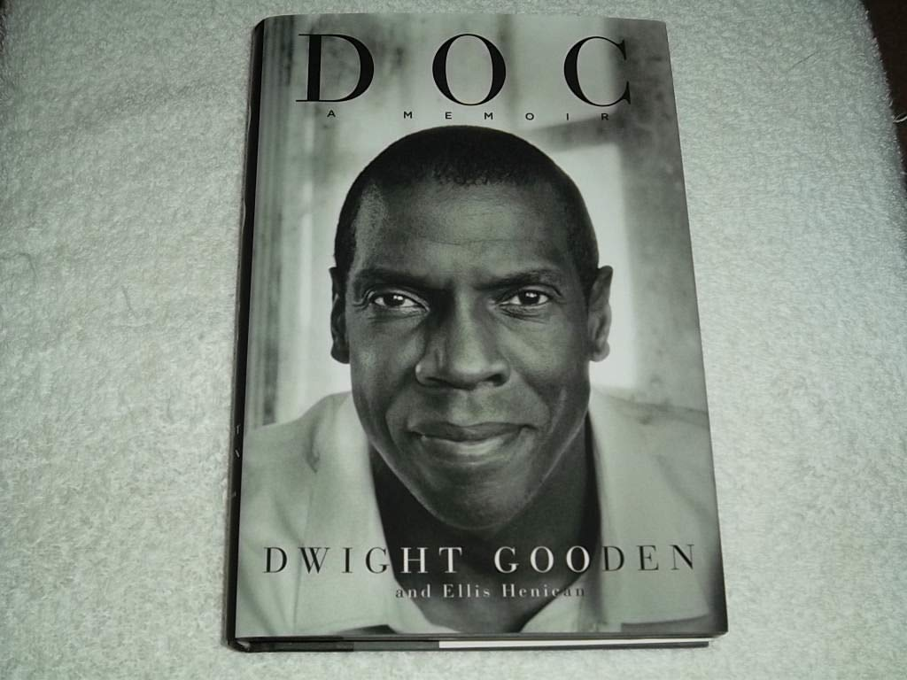 Dwight Gooden Hand Autographed Signed 1St Edition Hardback Book Doc A Memoir MLB JSA Authentic Cert