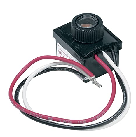 solo lights photocell light sensor switch for hardwire outdoor lamp rh amazon com