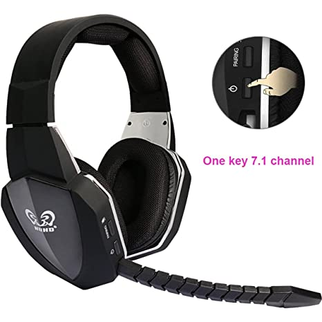 7.1 Surround Sound Optical Fiber 2.4G Wireless Professional Stereo Gaming  Headset for Xbox One Xbox 6aefbb8151ac