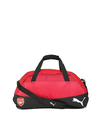 29ec6646bffc3 2017-2018 Arsenal Puma Medium Football Bag (Chilli Pepper)  Amazon ...