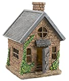 "Cheap Yaze Retail Fairy Garden House Kit Miniature – Hand Painted Realistic 7"" Gnome Village Home Opening Door – Mini Figurine Playhouse Collectors – Mini Lawn Accessories Décor Fairies"