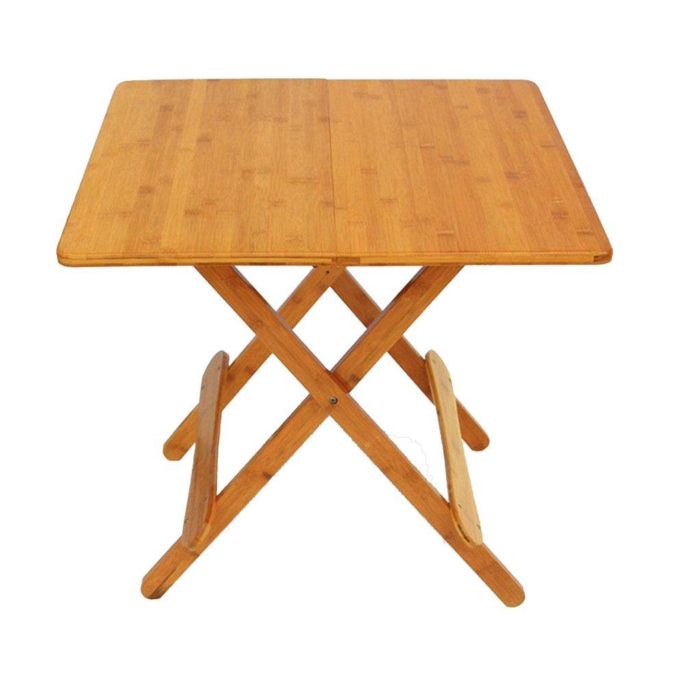 NAN スクエアソリッドウッド折りたたみテーブル、室内読書スタディテーブル、リビングルームテーブル ワークベンチ (サイズ さいず : 60 cm 60 cm) B07F7GCRWJ60 cm 60 cm