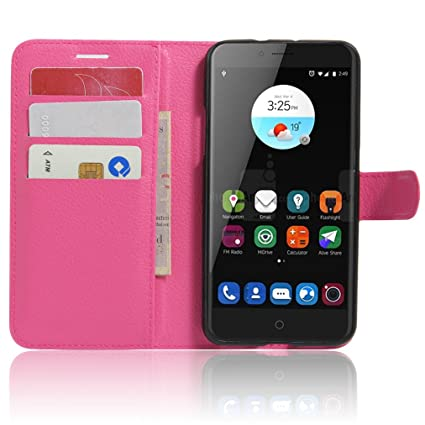 Amazon.com: ZTE Blade V7 Case–Manyip PU Leather Stand Wallet ...