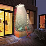 46 LED Outdoor Solar Wall Light- Motion Activated