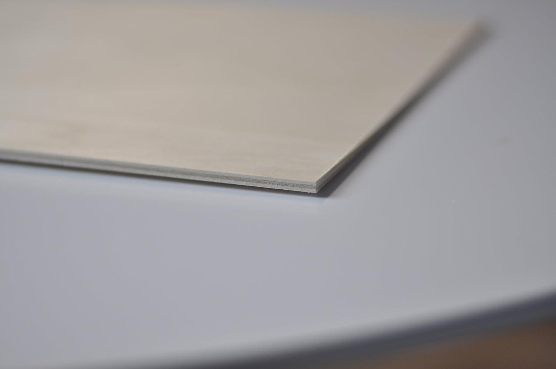Creative Deco 10 x A4 Tablero Madera Contrachapado | 300 x 210 x 3 mm | Maciza Abedul Encimera Báltico Hoja | Ideal para Pirograbado, Corte por Laser, ...