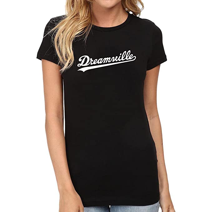 3c9b4e51f20a Amazon.com: Womens Dreamville Records Music Fans T-Shirts Women Tee:  Clothing