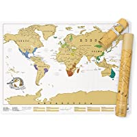 Luckies of London - Mapa para raspar (USLUSCR) 82.5 x 59.4 cm