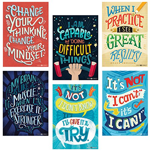 growth mindset posters for adults