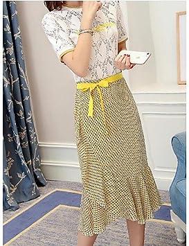 xuanku la mujer S saliendo sofis ticados trajes de falda Blusa ...